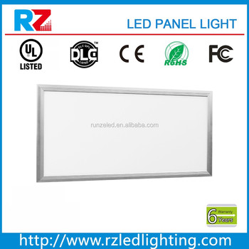 Shenzhen 38w 1ftx4ft dimmable led panel light with white frame