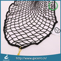 Greenhouse nylon elastic cargo mesh net with plastic hooks for carts
