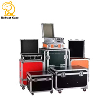 Ning Factory Professional Custom Air Aluminum flight Case for music equipment shipping