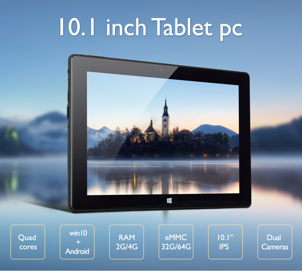 10 inch windows 10 4gb ram 64gb storage tablet pc with detachable keyboard