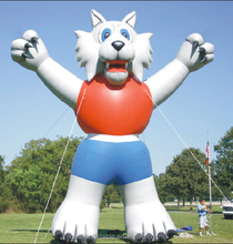 Giant inflatable fox animal model for sale