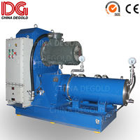 80l/100l horizontal sand grinding machine for glass ink