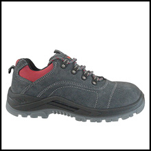 safety Fashion Design Nubulk Leather Lightweight Sport Style Work Shoes