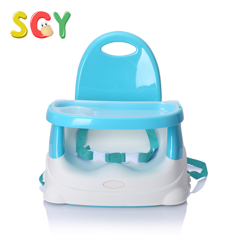 SCY C001 Baby's Portable Booster Seat Dining Chair PP Pink/Blue/Green NO tool 1pcs plastic baby booster seat