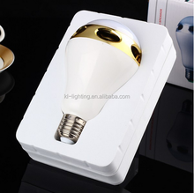 china Super hot selling 5w bluetooth led speaker bulb RGB convert 7 colors mobile control