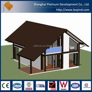 European Style Prefabricated House Design