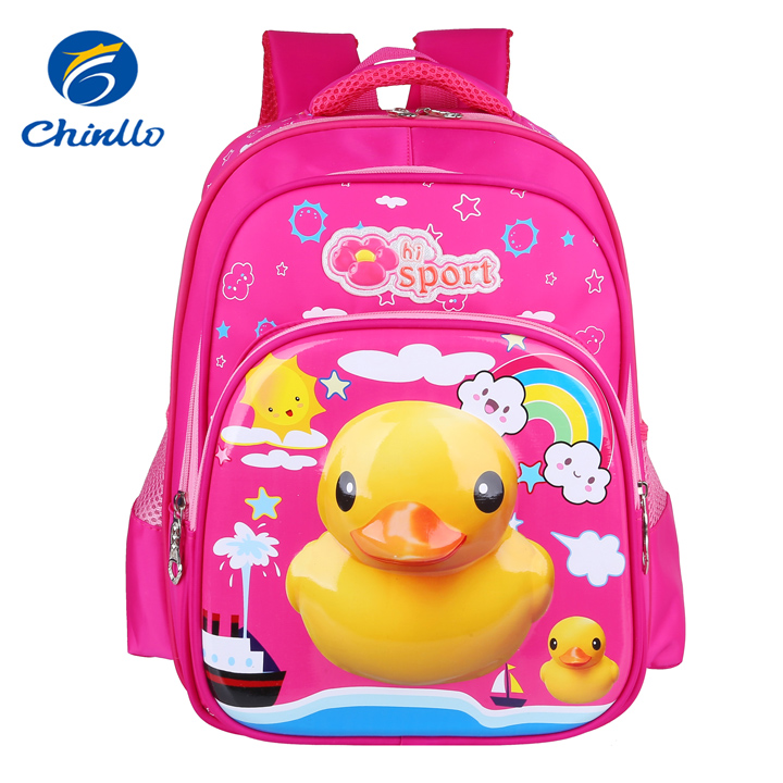 cheap unisex cartoon book bag for primary students