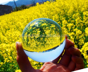 100mm clear glass balls// solid glass balls for sale