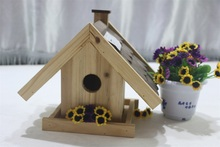 High quality 100% handmade decorative painting bird houses