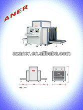 Hot sell 1000(W)*1000(H)mm x ray baggage scanning machine for airports gun, knife, largest drug,cargo detection