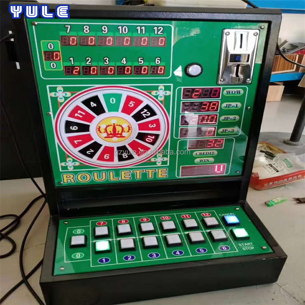 mini roulette machine casino slot casino coin pusher game machine