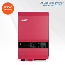 Hotsale pure sine wave Low frequency off grid mppt solar charger inverter 24/48 volts 5000watts