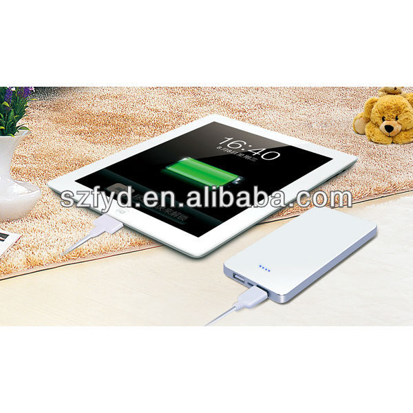 2013 new innovative products external battery charger for tablet