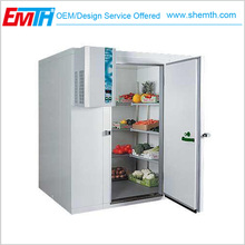 Meat Vegetable Fruits Container Cold Store Projects , Cold Store For Banana Meat Fruits And Vegetables