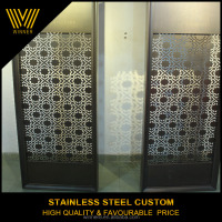 professional custom indoor metal rotatable folding doors room dividers
