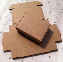 Brown Kraft Paper Box Wedding Favor Gift Box Candy Jewelry Packing Packaging