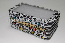Leopard Full Touch Screen Leather Case for Galaxy note 3 n9000