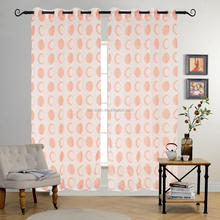 2017 polyester sheer elegance patterned curtain