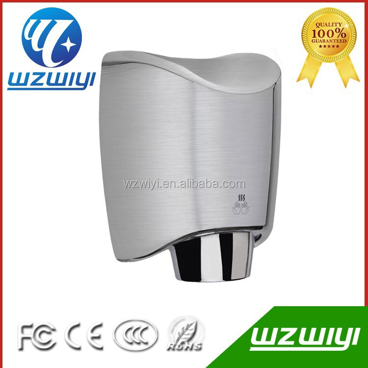 High quality sensor hand dryer with CE&ROHS proved stainless steel bathroom automatic hand dryer