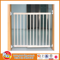 child safety fence/safety barriers child/wooden baby door rail