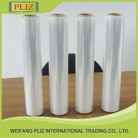 plastic wrap film package wrap hdpe plastic film , stretch film