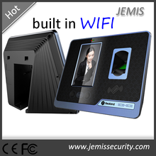 4.3'' Touch screen fingerprint biometric time attendance wireless face recognition