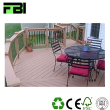 composite decking laminate furniture board outdoor plastic deck floor covering