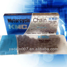 KMC chain New package CD70 420-104L motorcycle chain kits for pakistan