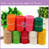 k5537 Rental supplies cheap Burlap Wedding Decorations hessian burlap roll