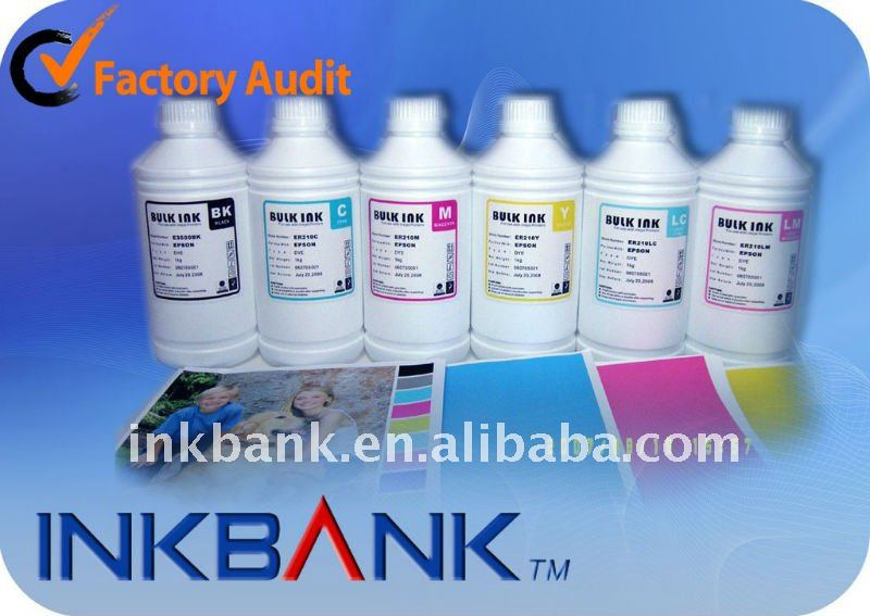 INKBANK Rifill INK Bulk INK Water based Dye ink for ALL EPSON Desktop Printer INKBANC