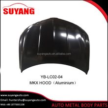Replacing aluminum car hood for Lincoln mkx auto spare parts