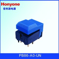 PB86-A0-UN blue cap without LED push button switch