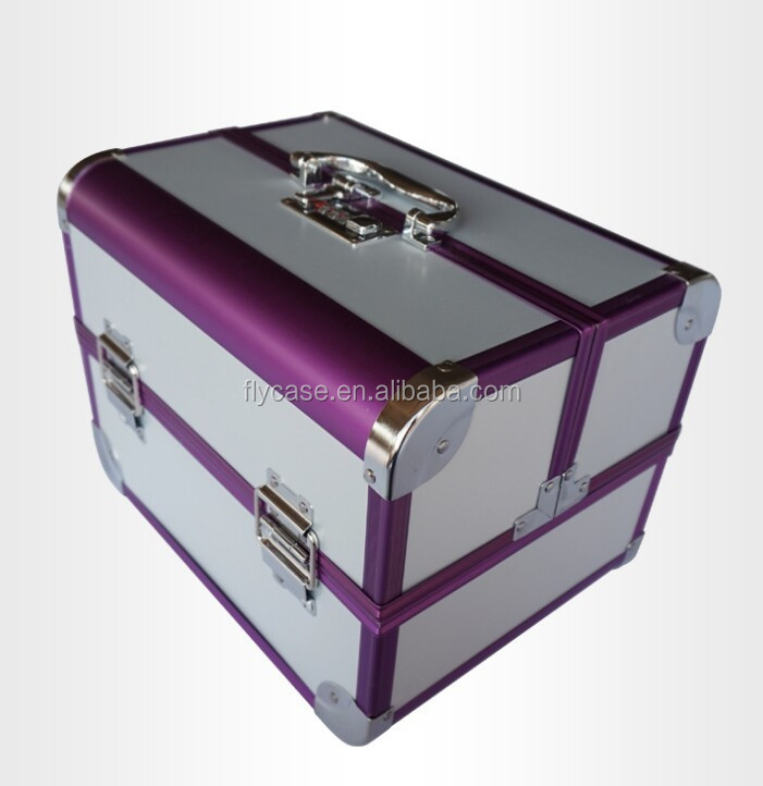 fashionable aluminium cosmetic cases and boxes packaging