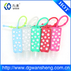 hand sanitizer bottle holder Cover Case/antibacterial silicone hand sanitizer holders