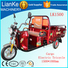electrically operated tricycle/electric tricycle used/adult big wheel tricycle