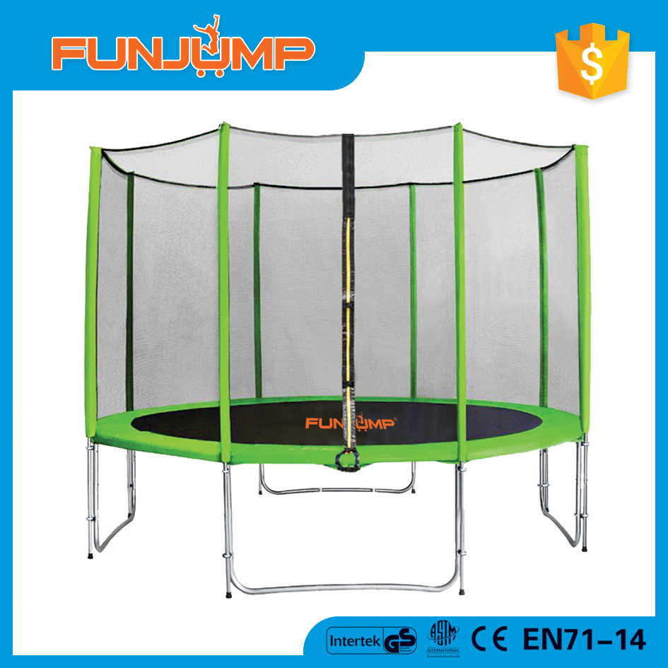FUNJUMP professional ninja 15ft jumperoo trampoline for baby and adults