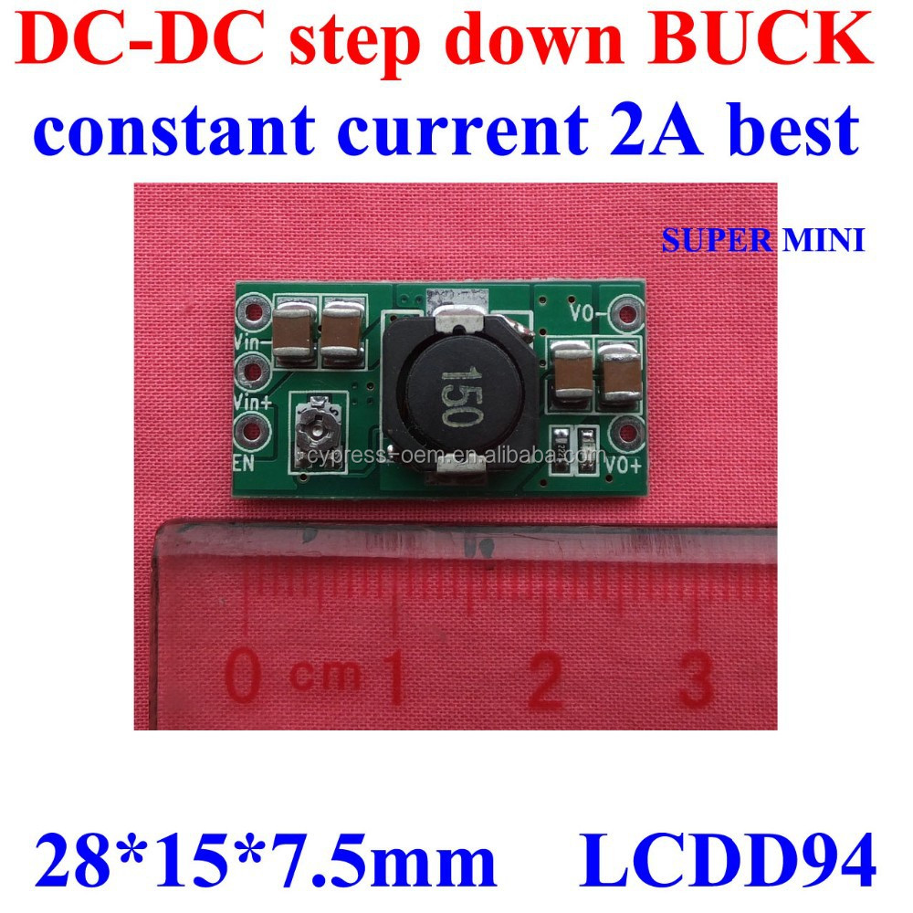 <strong>DC</strong> 12v to 5V 2A Ultra mini airplane PCB board/ converter 93%,340KHZ,short circuit protection
