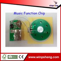 Recordable Music Chip For Greeting Cards/Greeting Cards Speaker Recordable