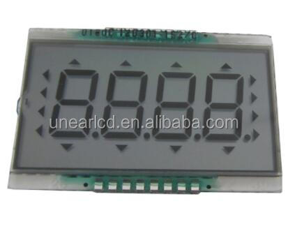 LCD display panel,4 digits LCD module for crane weigher UNLCD91562