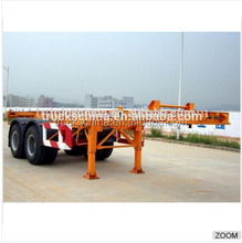 low bed semi trailer dimensions 30 ton 2 axle trailer