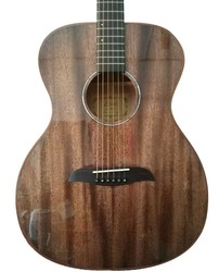 2017 new style solid wood guitar mahogany acoustic guitar