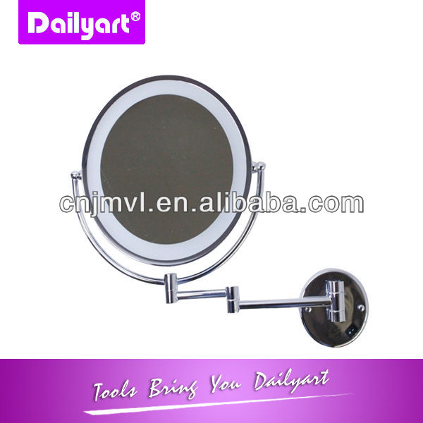 2014 new folding bathroom mirrors with led lights