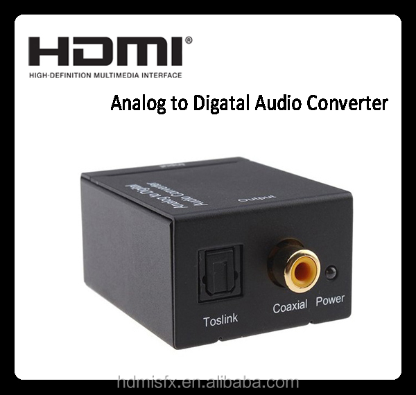 3D video converter digital to analog , analog to video converter with optical fiber