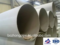 welded 304/304L industrial stainless steel pipe