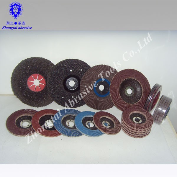 fiberglass backing plate of flap disc