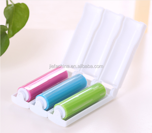 Travel Folding Washable Lint Roller/ Sticky Lint Roller Brush