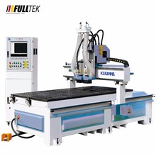 Wood CNC Carving Machine With HSD Double Spindles