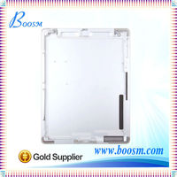 High Quality Glass and stainless steel WIFI version back cover for iPad 2 housing for iPad 2 back glass