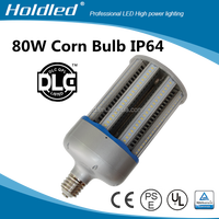 Hot UL DLC E39 E40 80w ul cul dlc approved no fan led corn street bulb light for enclosed Fixtures ensure 5 years warranty