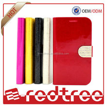 New products pu leather cell phone bumper case for sony xperia m2